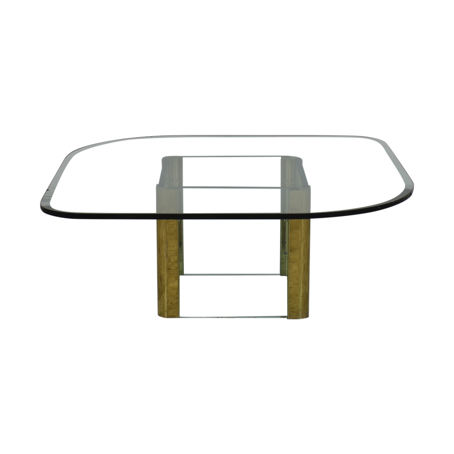 ABC Carpet & Home Coffee Table with Transparent Surface / Coffee Tables