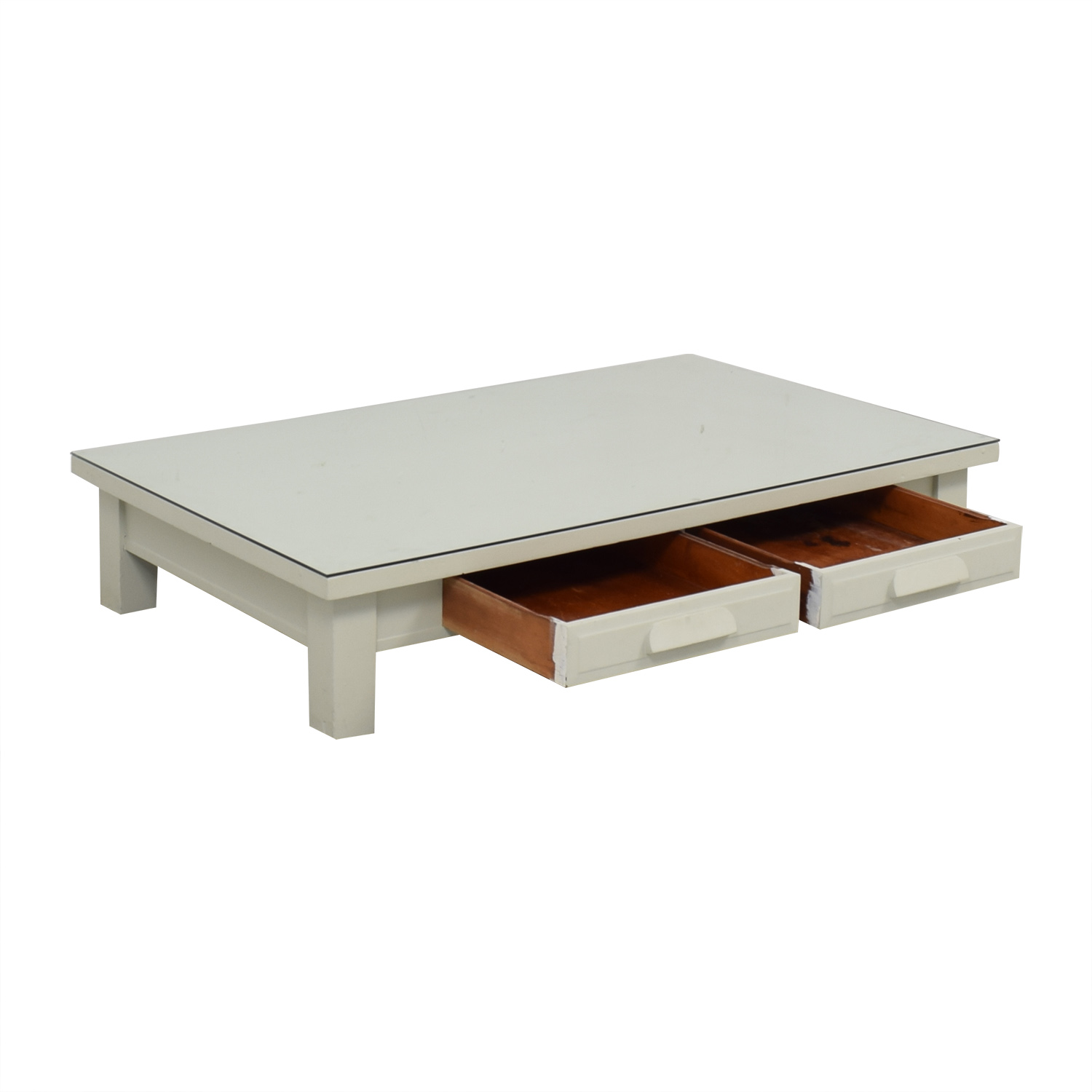 shop Coffee Table with Drawers