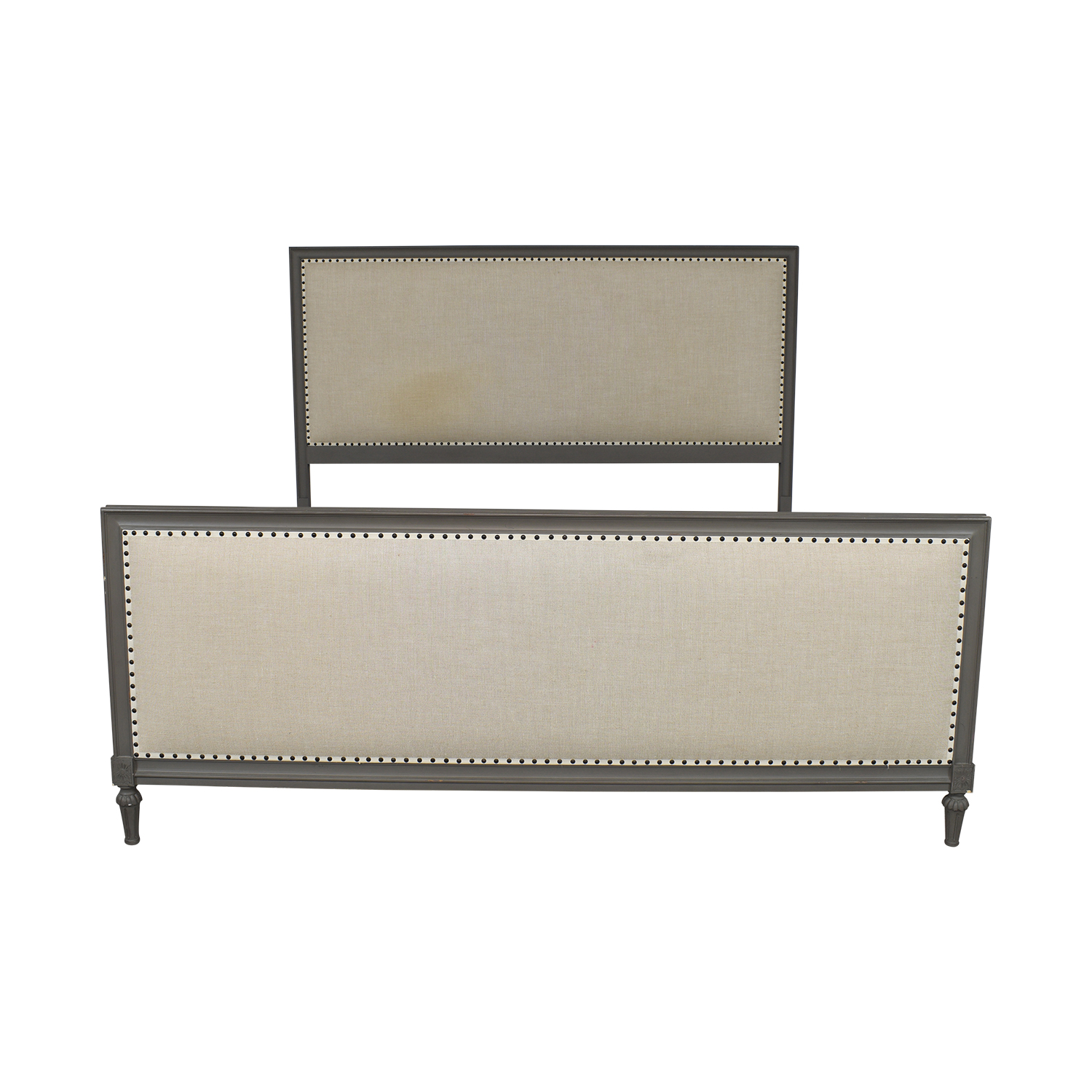 Restoration Hardware Restoration Hardware Maison Panel Fabric Bed with Footboard used