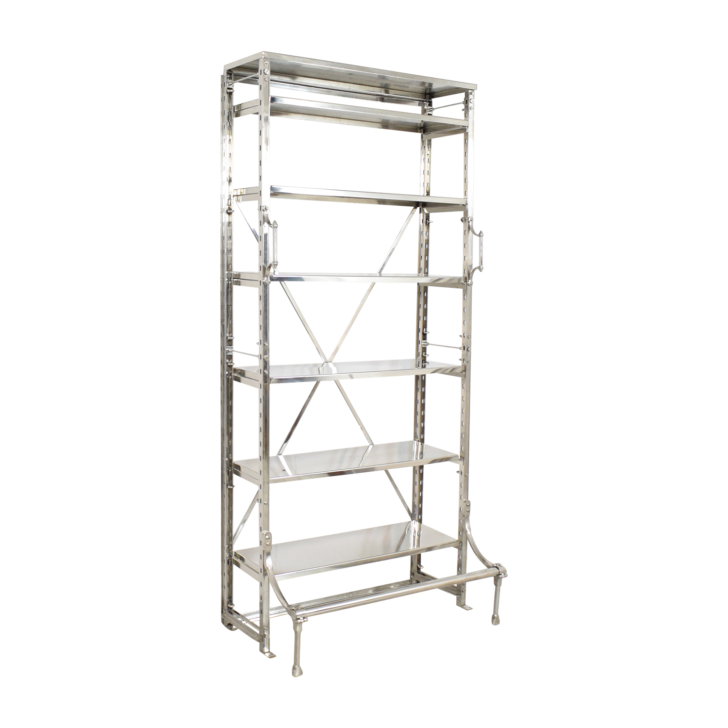 buy Restoration Hardware French Library Single Shelving Restoration Hardware
