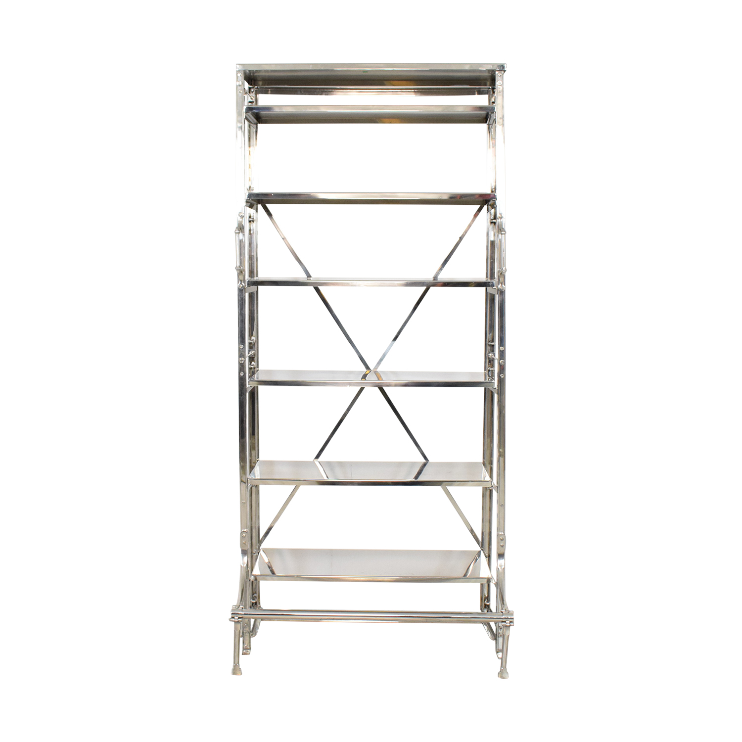 buy Restoration Hardware French Library Single Shelving Restoration Hardware Bookcases & Shelving