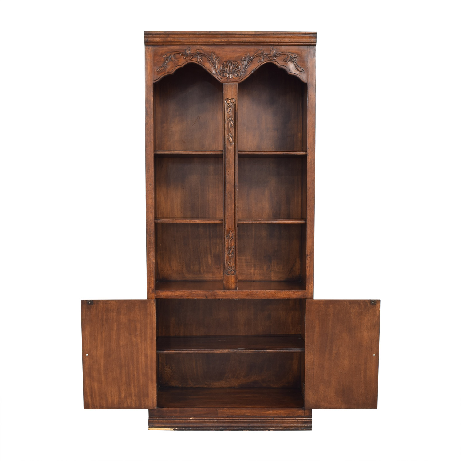 shop Bookcase with Cabinets  Storage