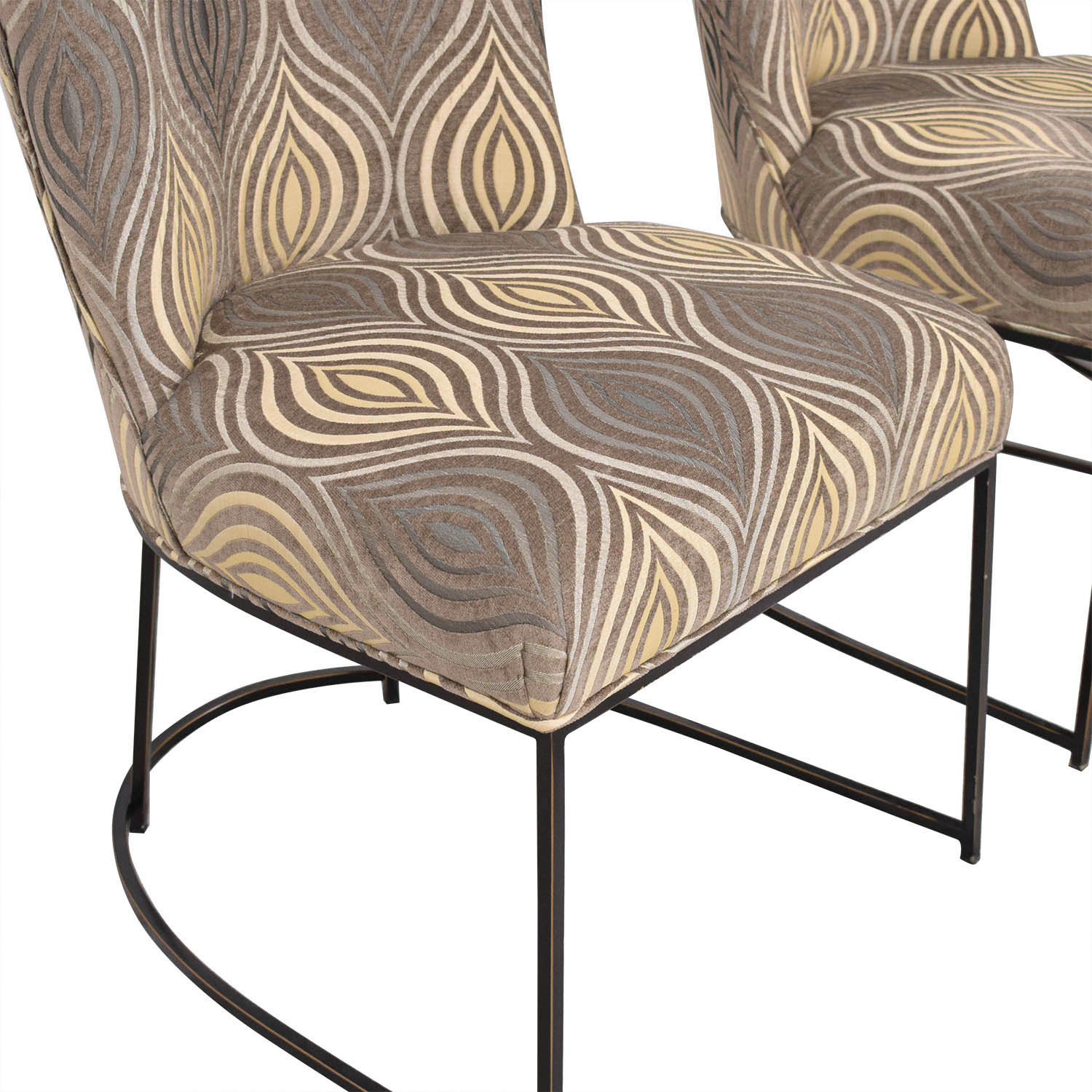 Custom Upholstered Dining Chairs dimensions