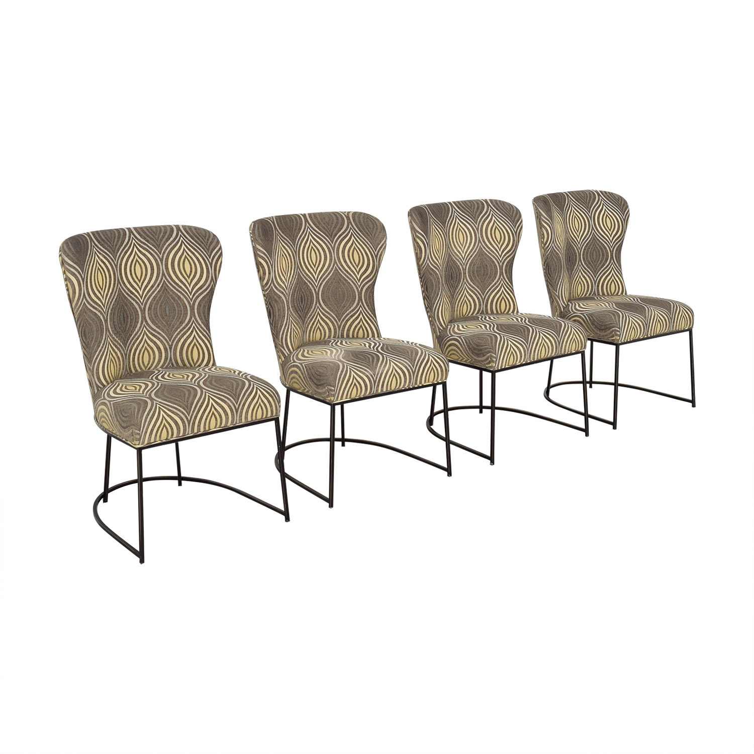Custom Upholstered Dining Chairs used