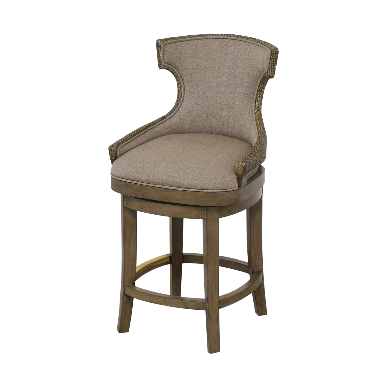 PI Inc Upholstered Swivel Bar Stools ma