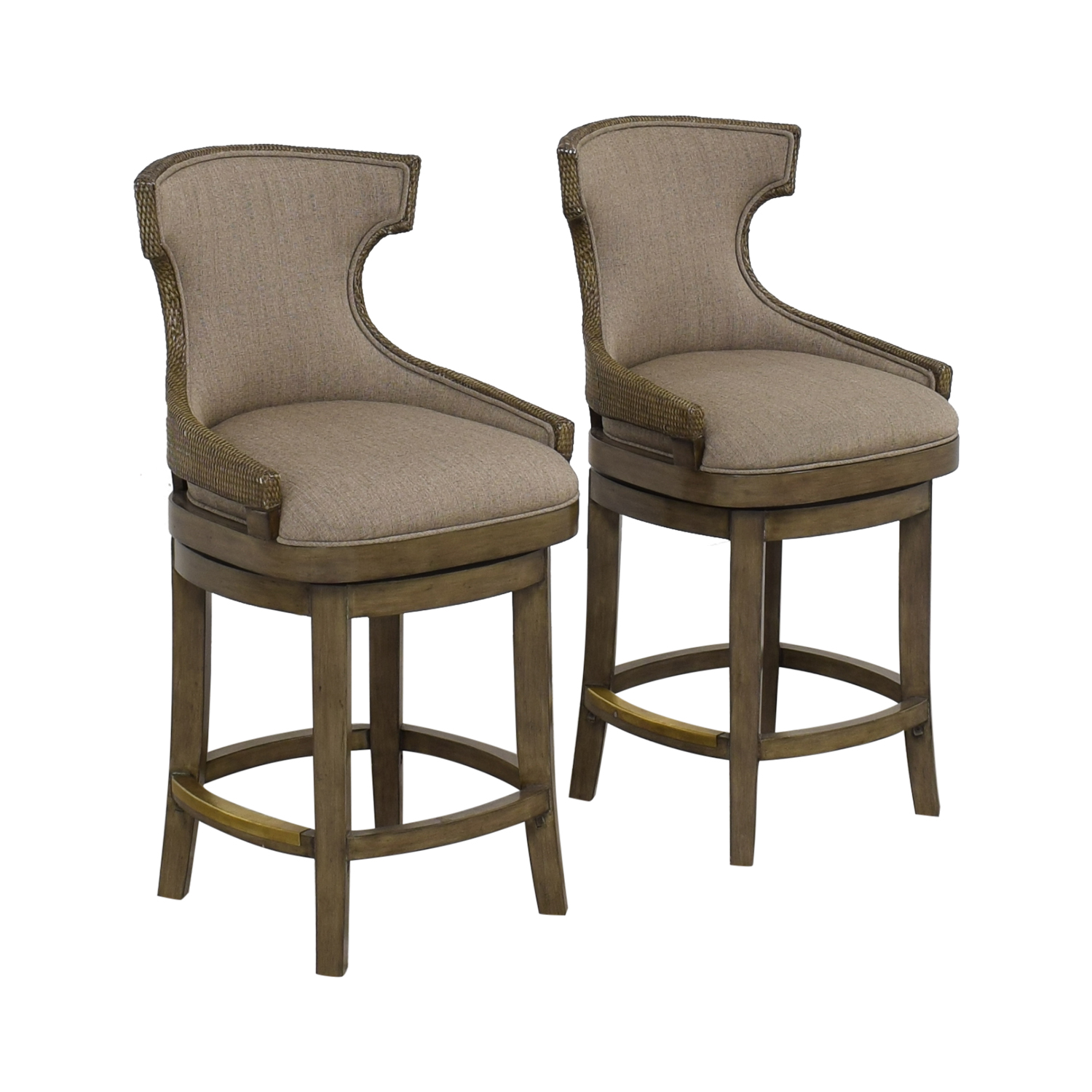buy PI Inc Upholstered Swivel Bar Stools  Stools
