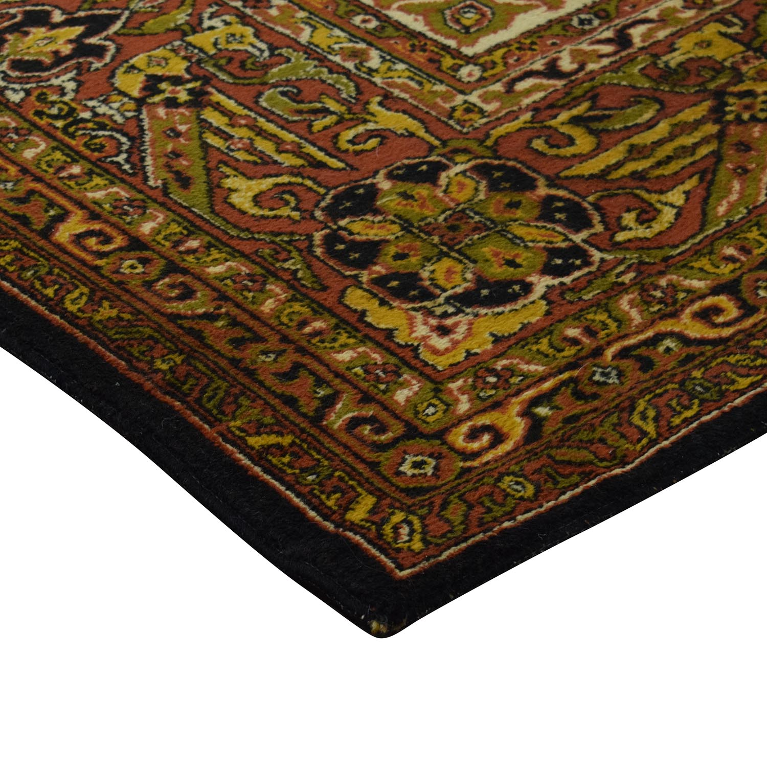 Antique Persian Wool Rug nj