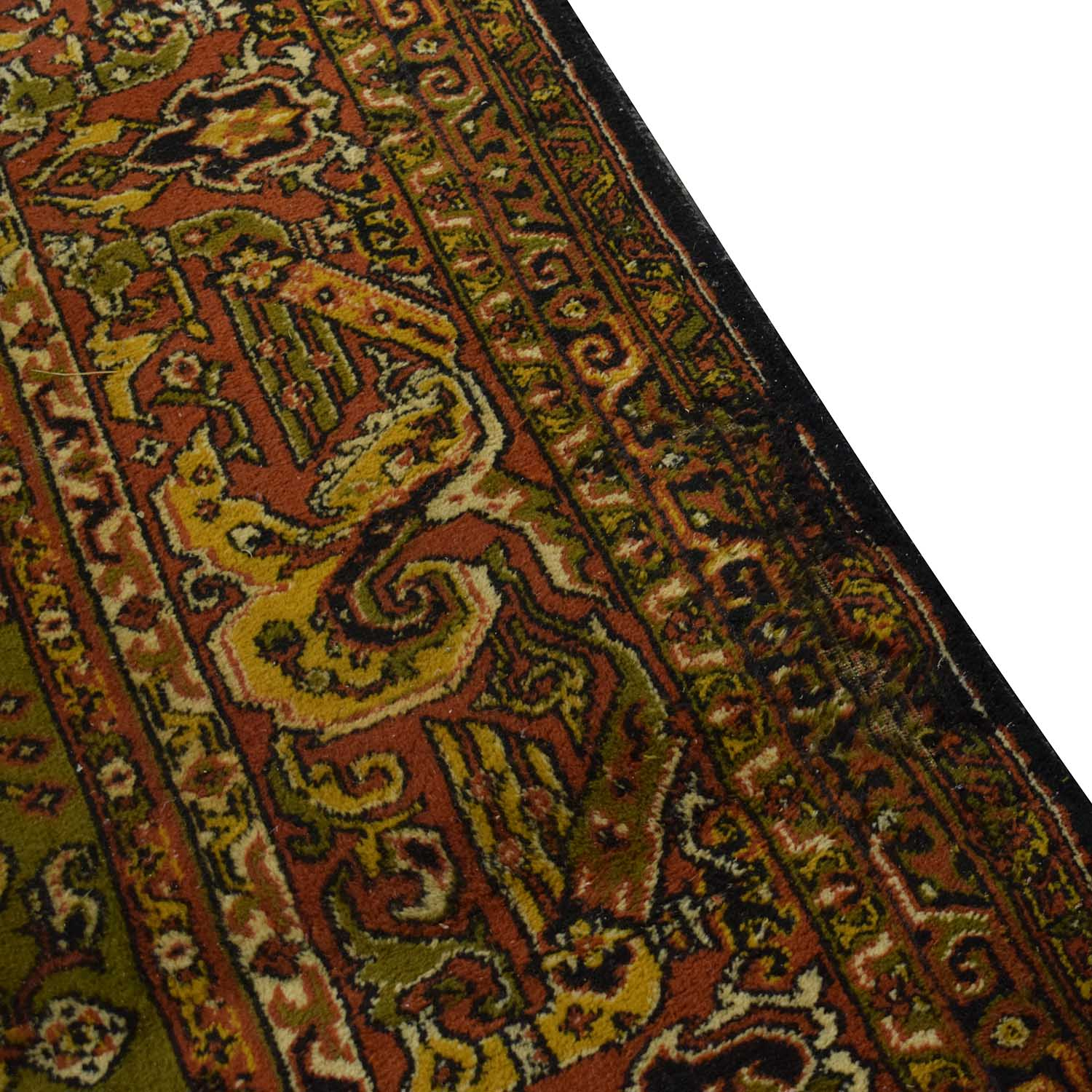 Antique Persian Wool Rug on sale