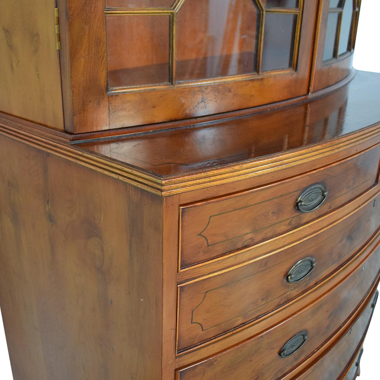 buy Macy's Macy's Secretary Hutch Desk online
