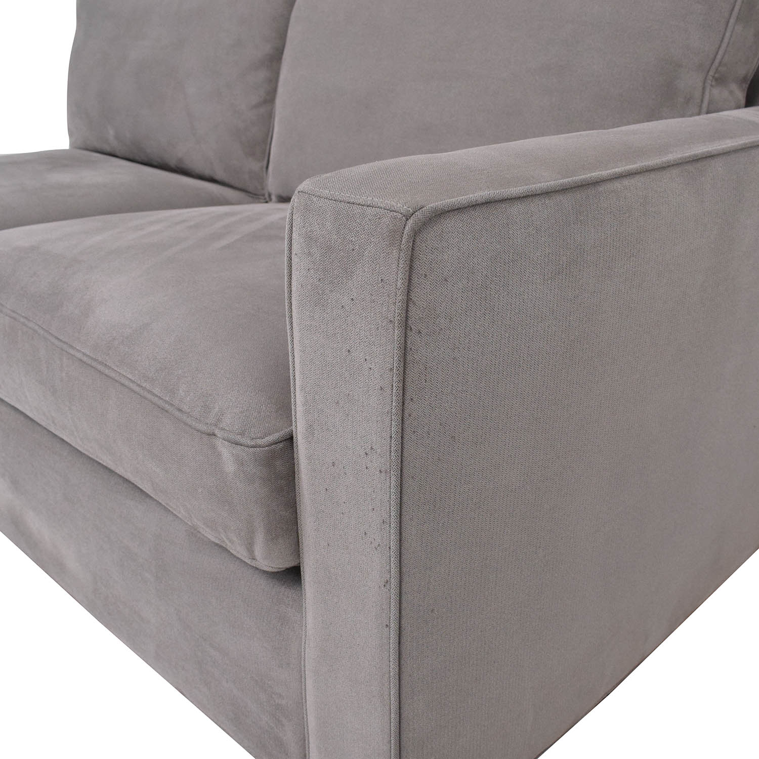 Crate & Barrel Crate & Barrel Axis II Two-Seat Section price