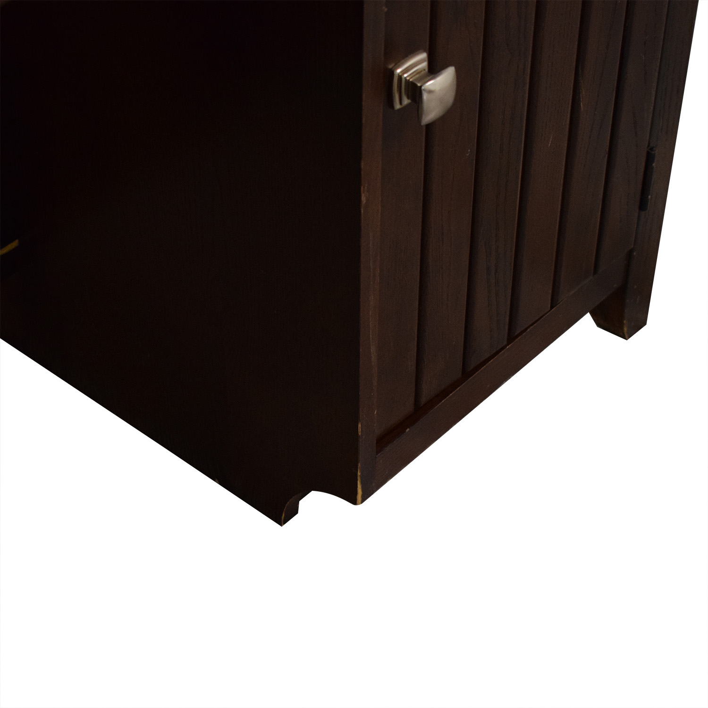 Stanley Furniture Stanley Furniture Desk with Cabinet on sale