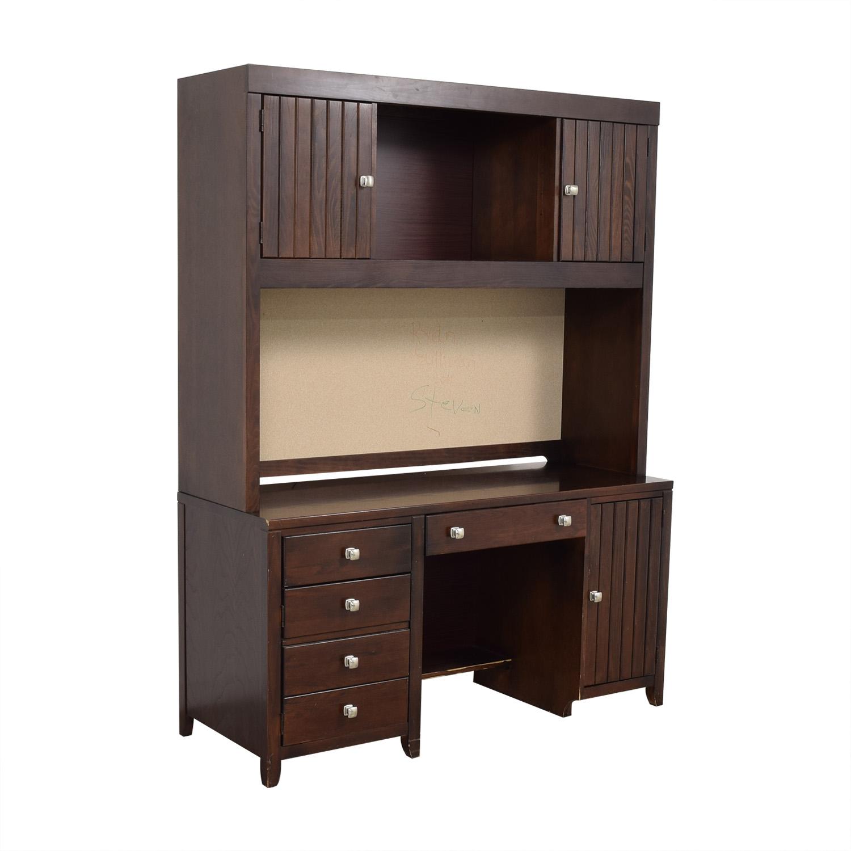 shop Stanley Furniture Desk with Cabinet Stanley Furniture Tables