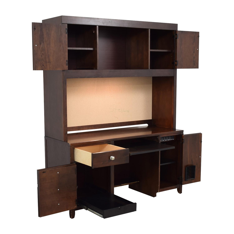 Stanley Furniture Desk with Cabinet / Home Office Desks