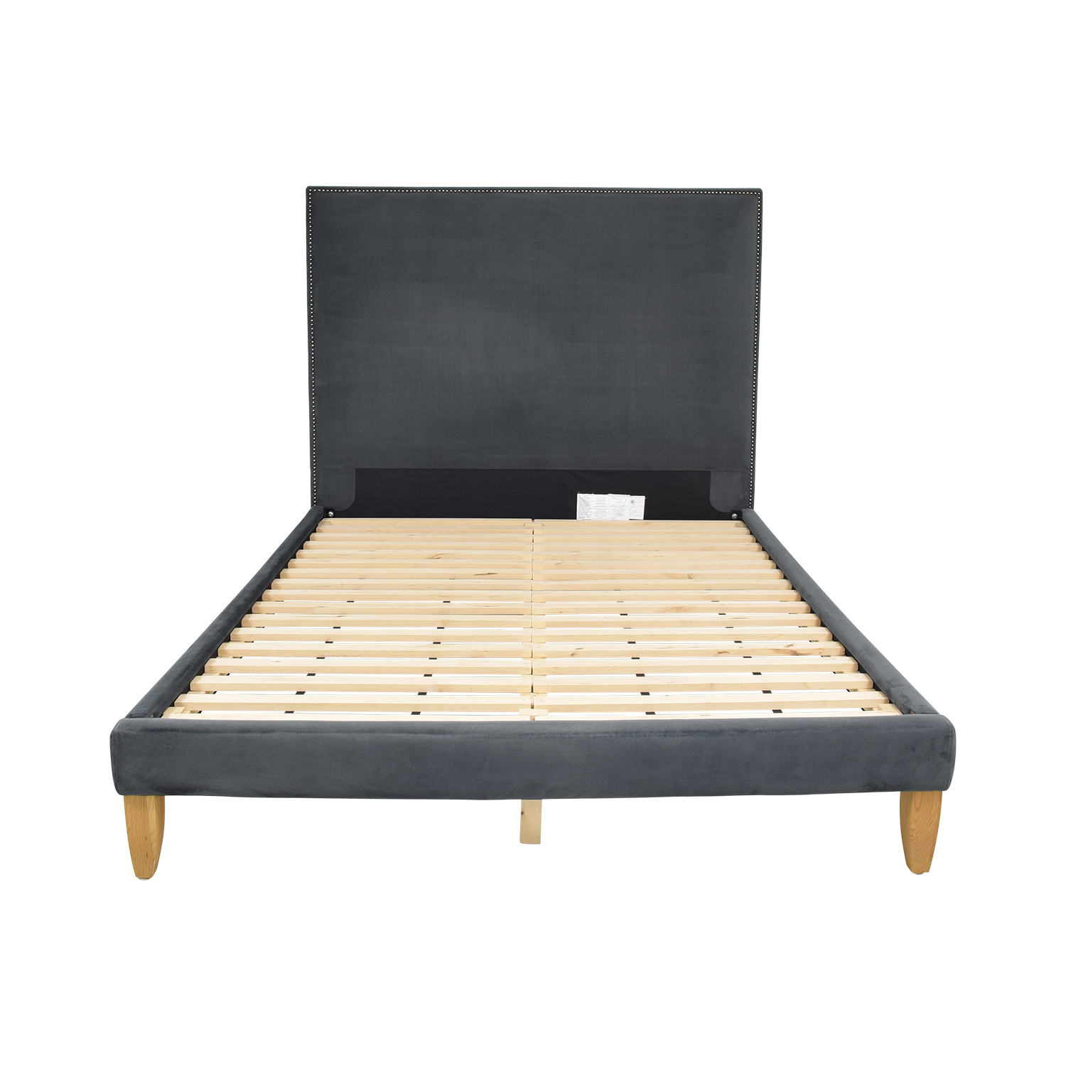 West Elm West Elm Upholstered Queen Platform  Bed nyc