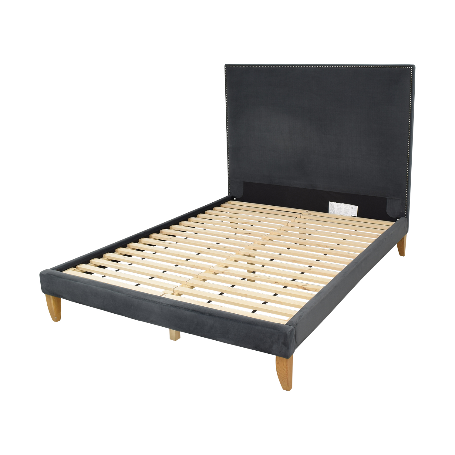 West Elm Upholstered Queen Platform  Bed West Elm