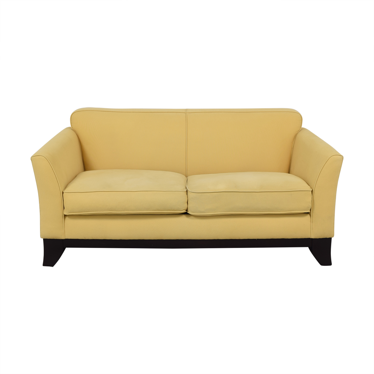 shop Pottery Barn Greenwich Loveseat Pottery Barn
