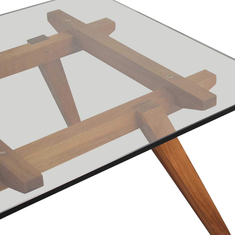 Organic Modernism Organic Modernism Recoleta Rectangle Coffee Table nyc