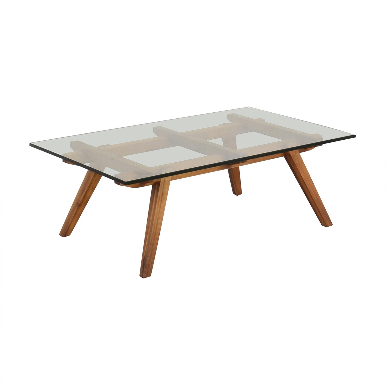 Organic Modernism Organic Modernism Recoleta Rectangle Coffee Table ma