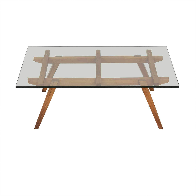 Organic Modernism Recoleta Rectangle Coffee Table Organic Modernism