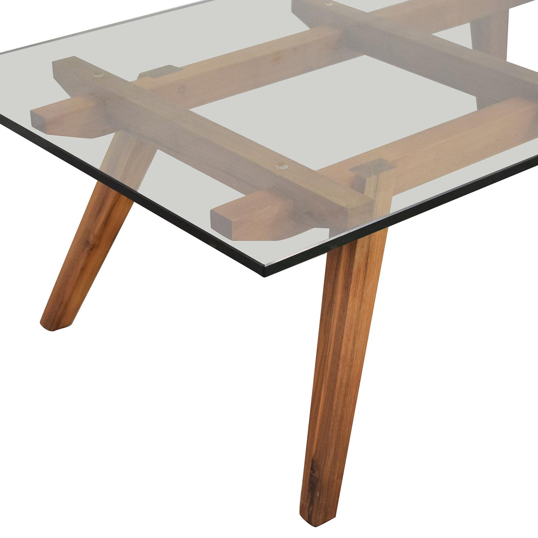 buy Organic Modernism Recoleta Rectangle Coffee Table Organic Modernism Coffee Tables