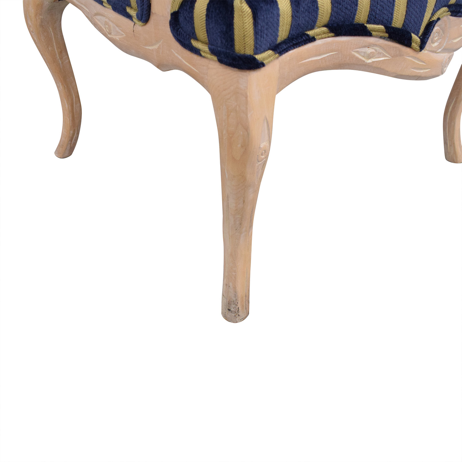 shop Stripe Upholstered Arm Chair  Chairs