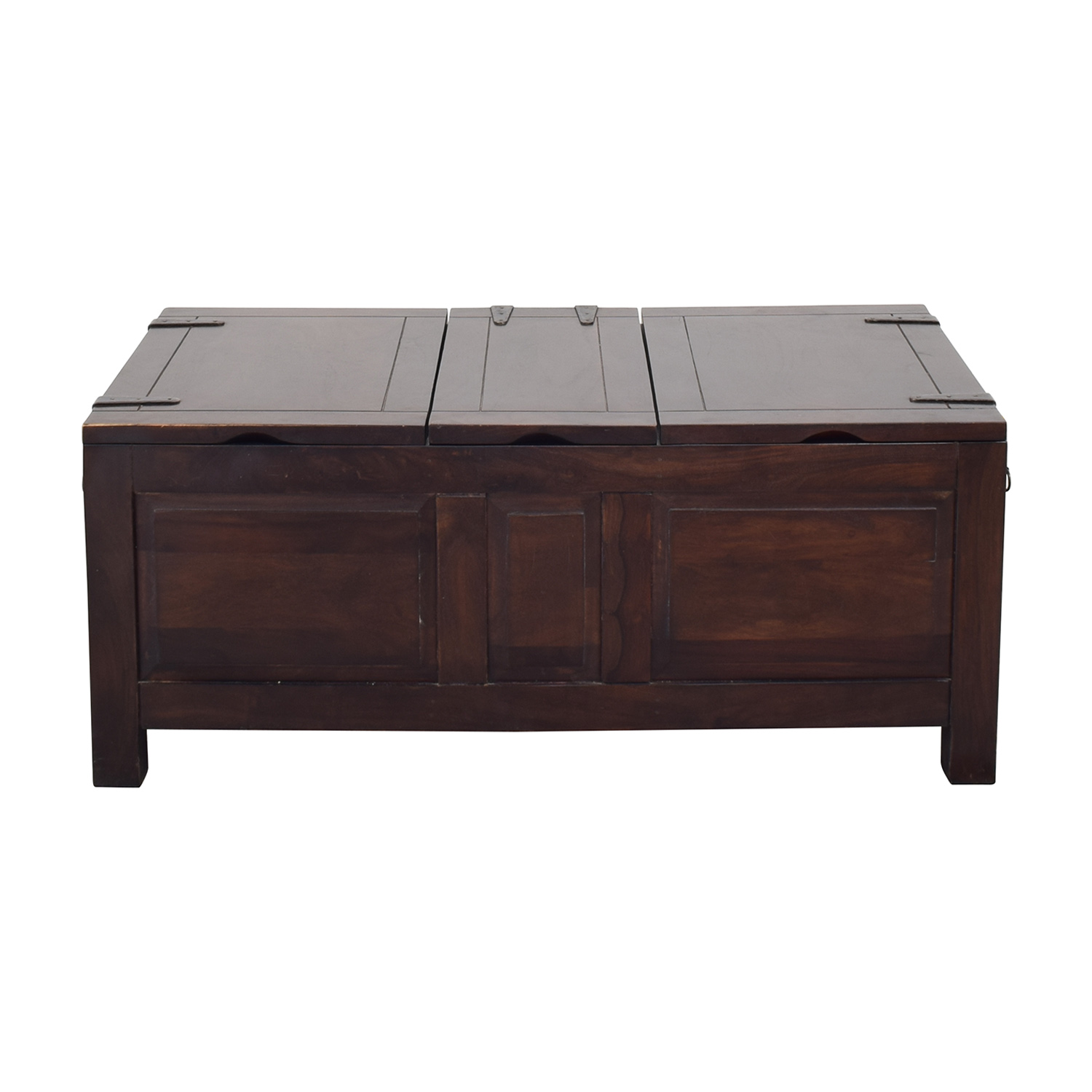 Crate & Barrel Storage Coffee Table Trunk sale
