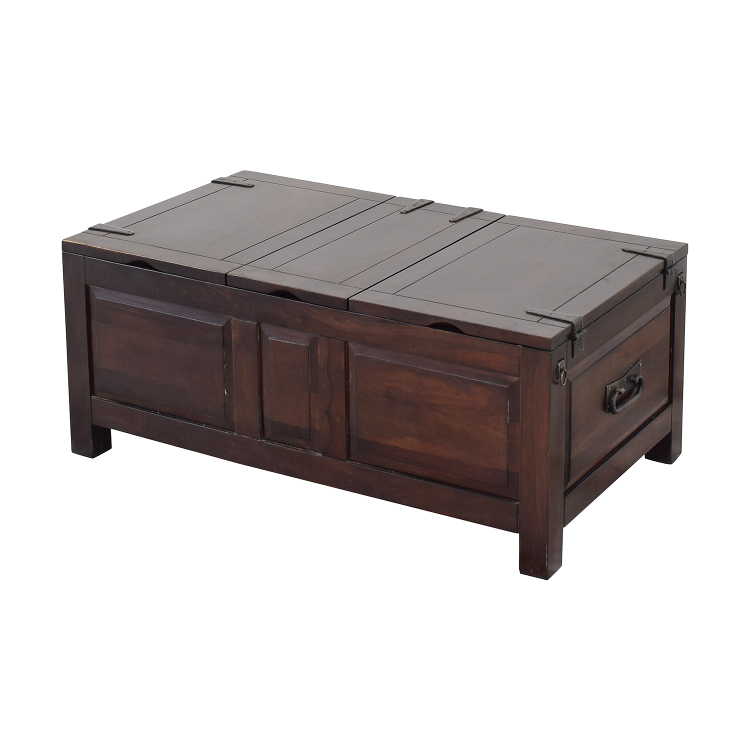 Crate & Barrel Crate & Barrel Storage Coffee Table Trunk ct