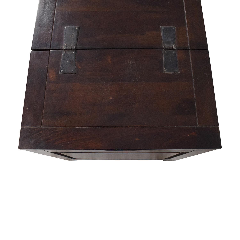 shop Crate & Barrel Side Trunk Crate & Barrel