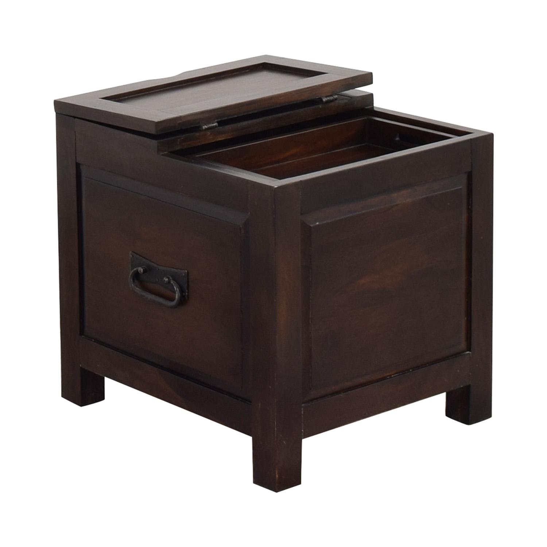 buy Crate & Barrel Side Trunk Crate & Barrel End Tables
