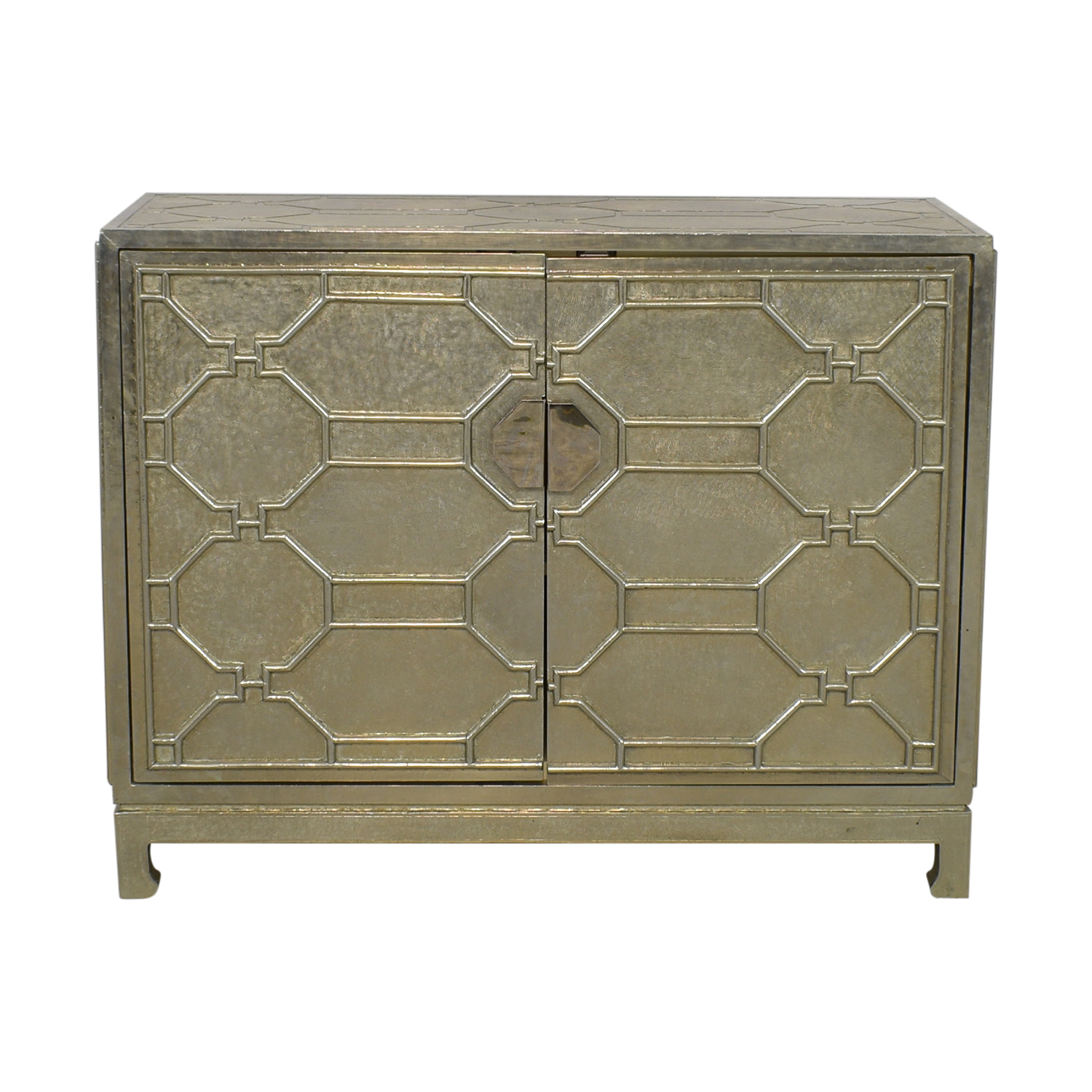Brownstone Furniture Brownstone Furniture Treviso German Chest Cabinet silver