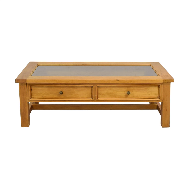 PJ Milligan Storage Coffee Table brown