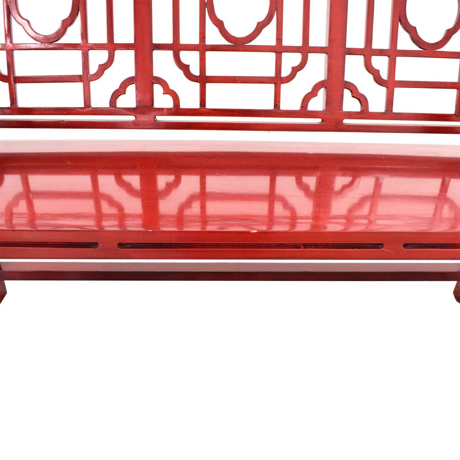 Neiman Marcus Neiman Marcus Chinese Lacquer Bench Chairs