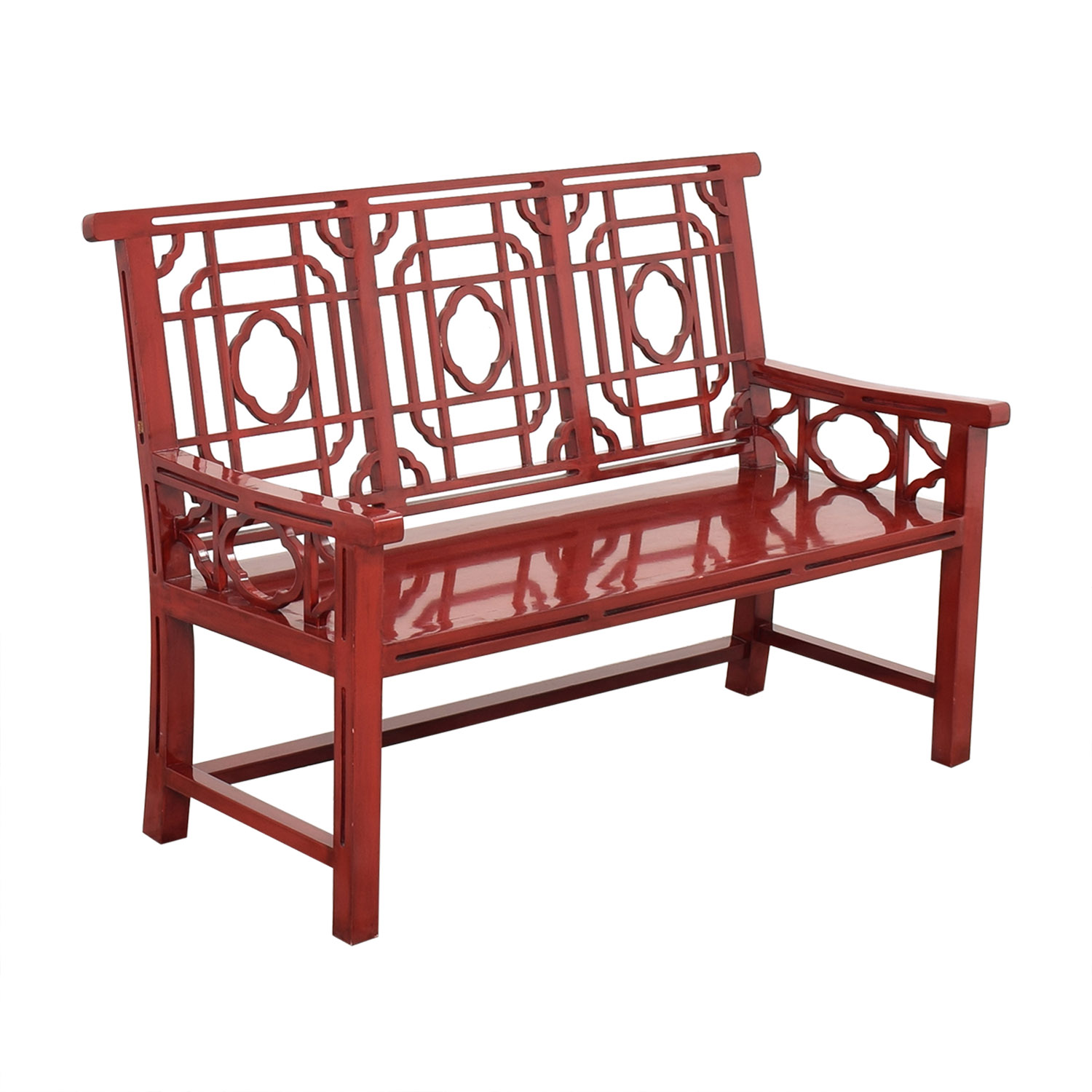 Neiman Marcus Neiman Marcus Chinese Lacquer Bench Benches