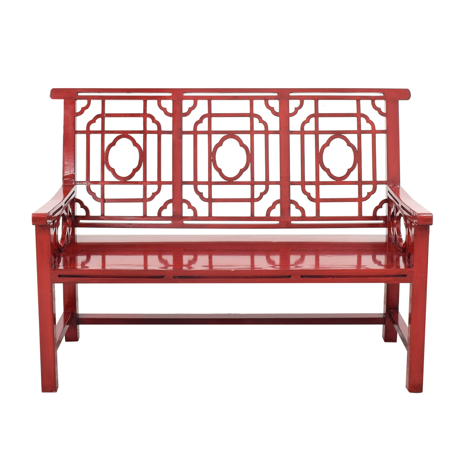 buy Neiman Marcus Neiman Marcus Chinese Lacquer Bench online
