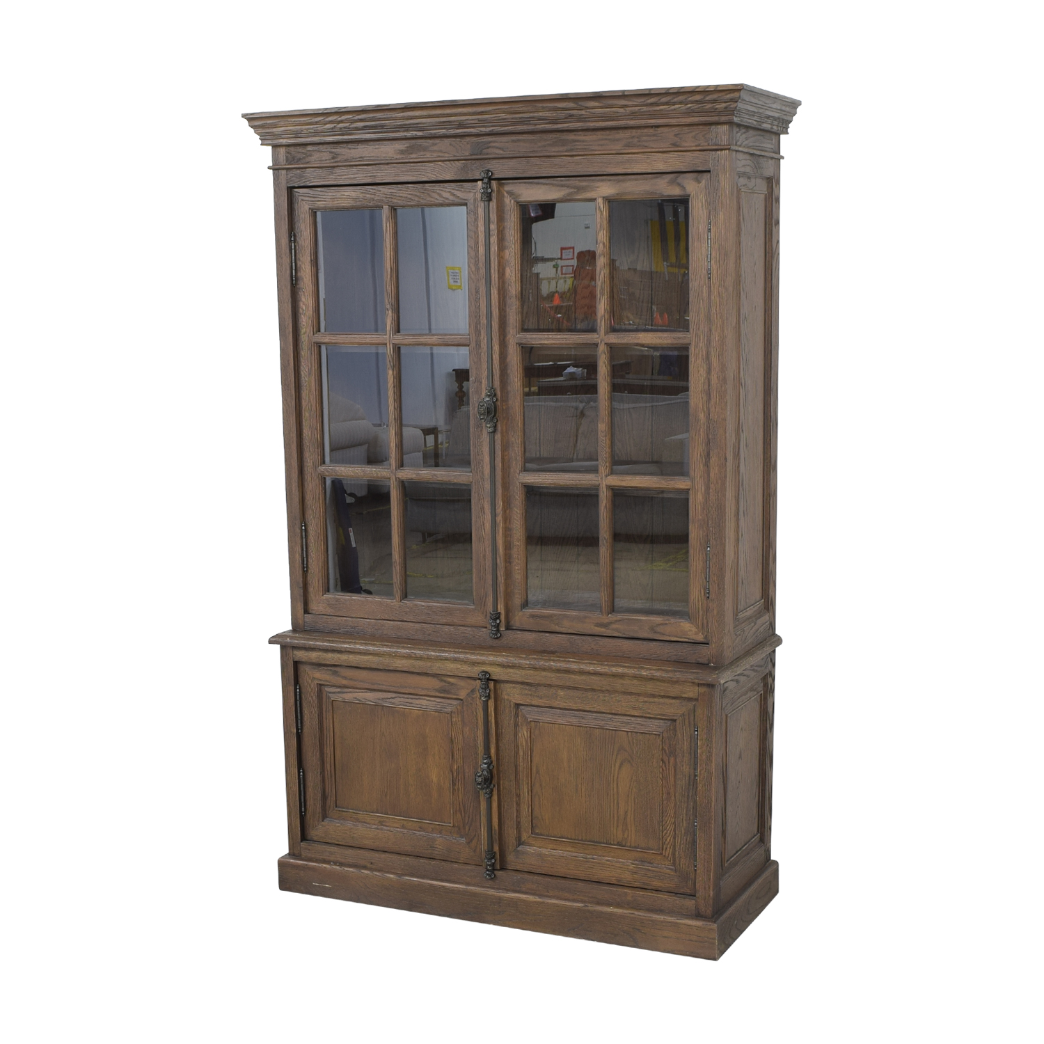 Restoration Hardware Restoration Hardware Display Cabinet discount