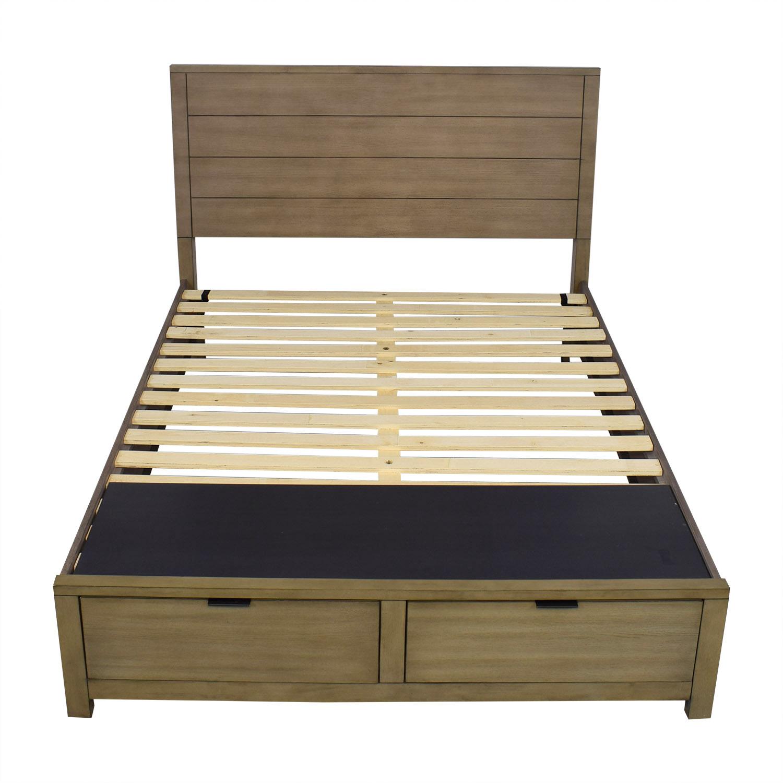 25 Off Macy S Macy S Tribeca Storage Queen Bed Beds