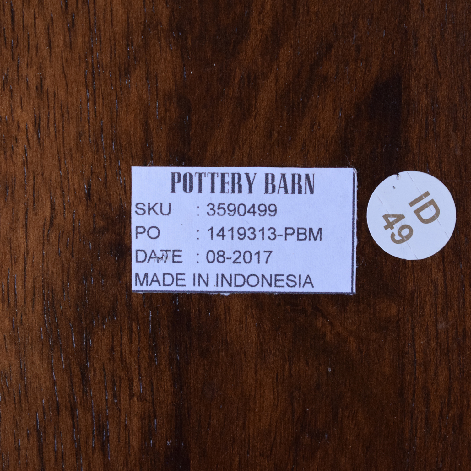 Pottery Barn Pottery Barn Liam Dining Side Chairs ma
