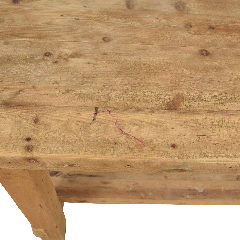 Restoration Hardware Restoration Hardware Salvaged Wood Island for sale