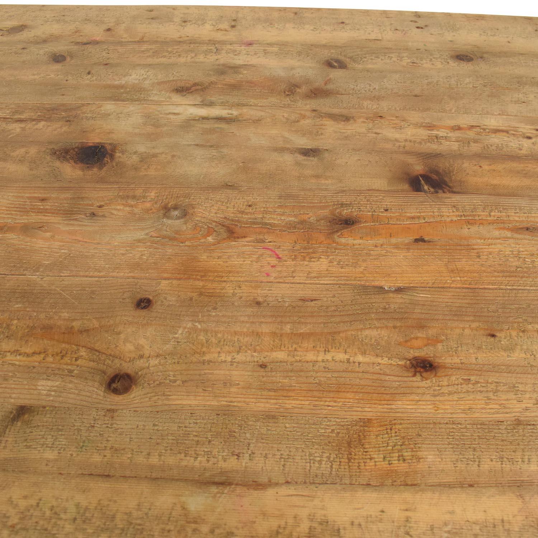 Restoration Hardware Restoration Hardware Salvaged Wood Island dimensions