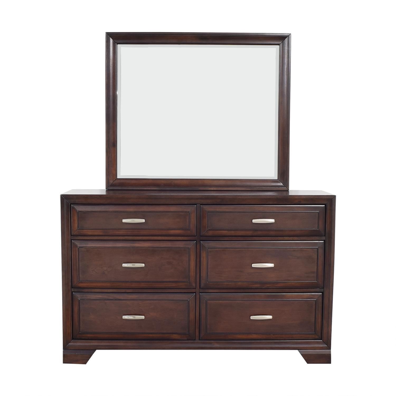 Raymour & Flanigan Raymour & Flanigan Dresser with Mirror used