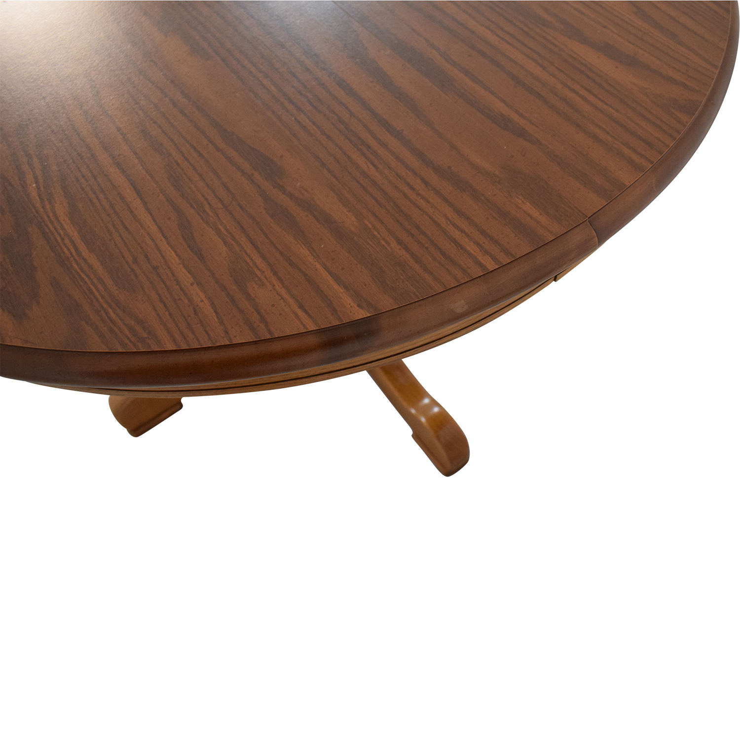 Tell City Tell City Dining Room Oak Pedestal Table ct
