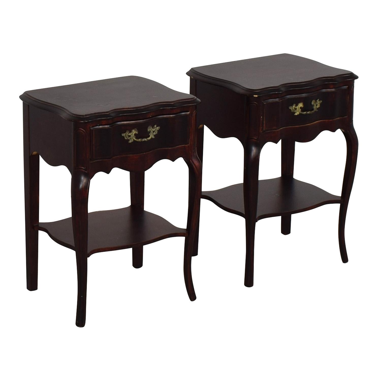 A America Furniture >> 69 Off A America Wood Furniture Night Stands Tables