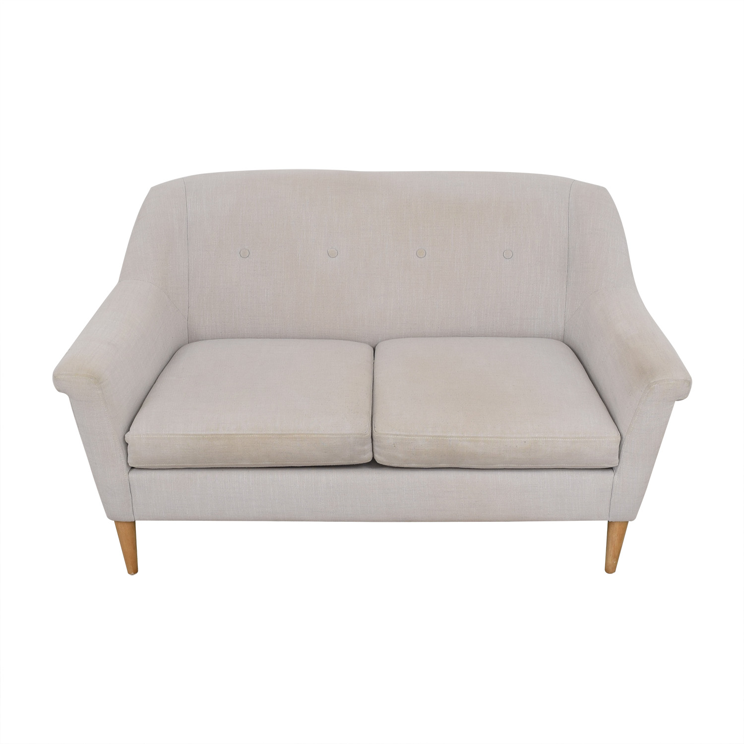 West Elm Finn Loveseat West Elm