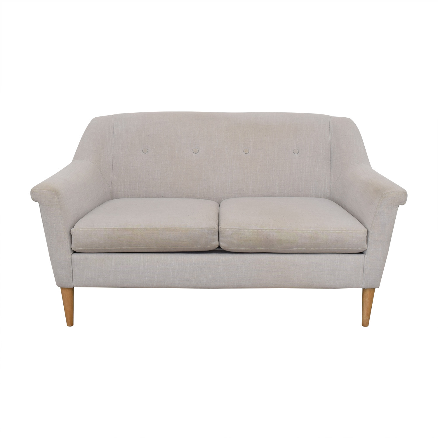 buy West Elm Finn Loveseat West Elm