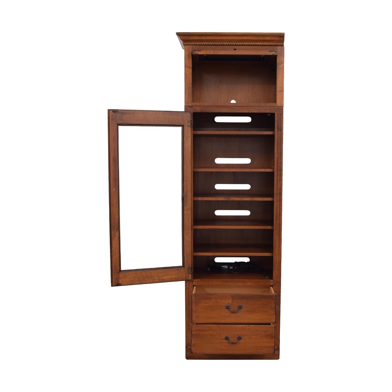 buy Ethan Allen Storage Cabinet Ethan Allen Storage