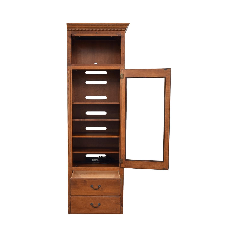 shop Ethan Allen Storage Cabinet Ethan Allen Storage