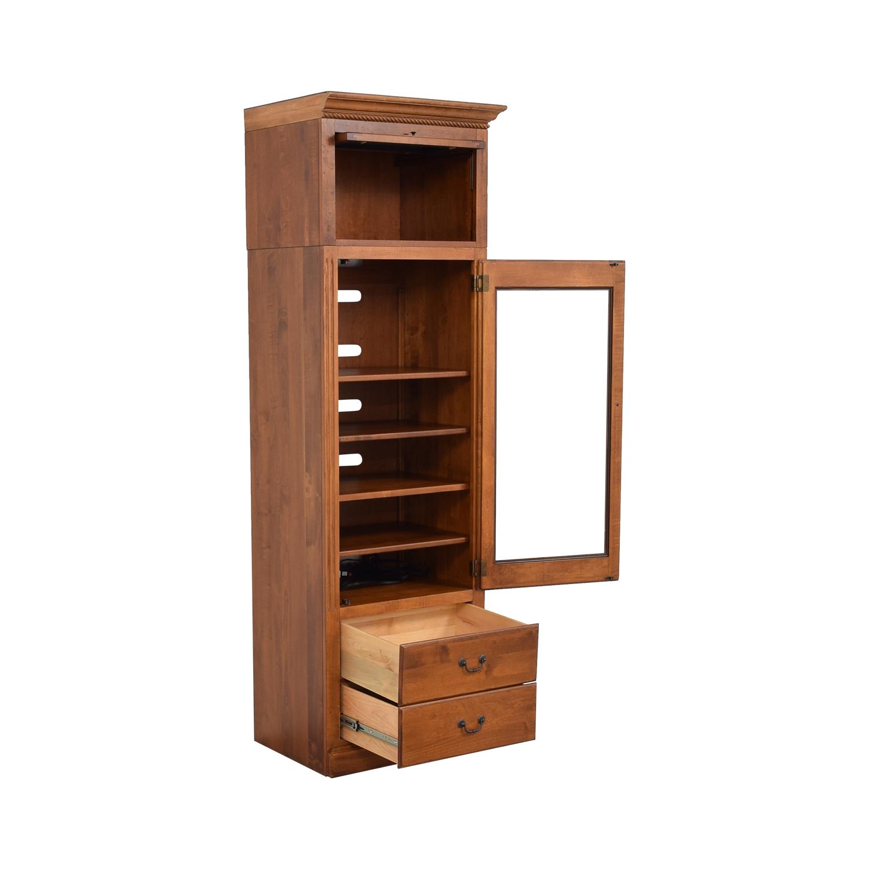 Ethan Allen Ethan Allen Storage Cabinet dimensions