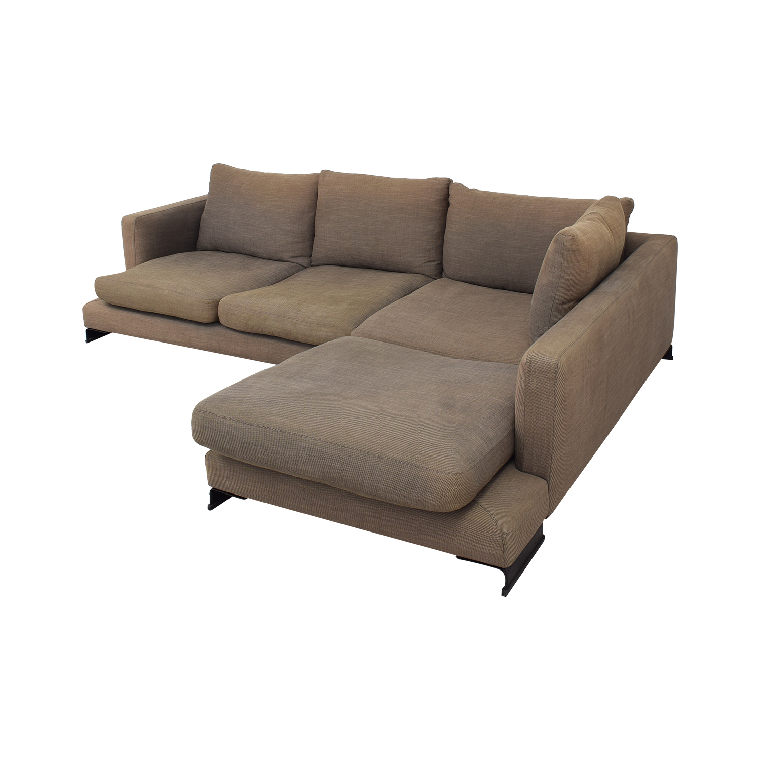 Camerich Camerich Lazy Time Custom Sectional Sofa dimensions