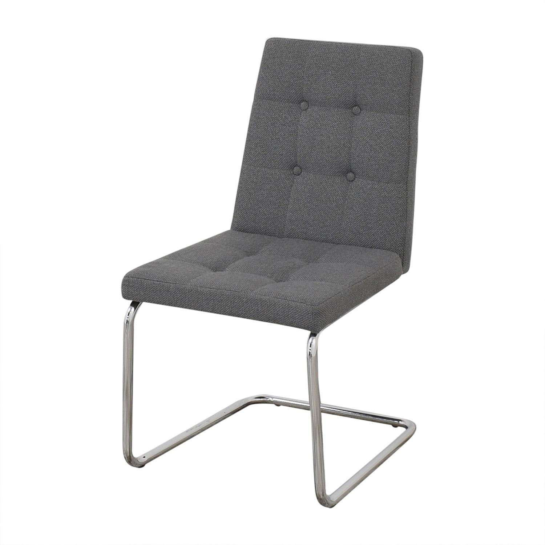CB2 CB2 Roya Grey Chairs grey