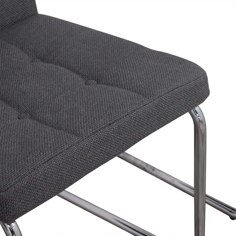CB2 CB2 Roya Grey Chairs ct